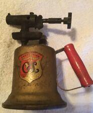 Vintage Clayton & Lambert Brass Blow Torch