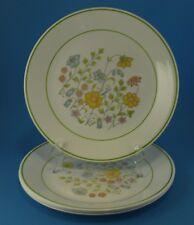 "4 Corelle ""Meadow"" 10.25"" Dinner Plates"