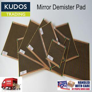 Mirror Defogger Bathroom Heater Pad Mist free Bathroom Mirror Demister Pads