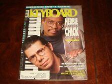 KEYBOARD MAGAZINE JULY 1988 HERBIE HANCOCK, CHICK COREA, Ensoniq ESQ-1, Emulator
