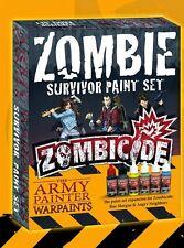 Pintor del ejército conjunto de pintura de expansión Nuevo Y En Caja Zombicide Survivor