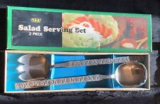 Yax Serving Set Stainless Steel vintage 1970s Unused