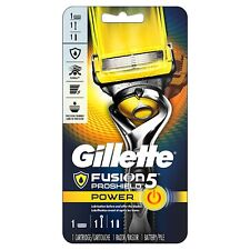 Gillette Fusion5 ProShield Power Men's Razor, 1 Handle 1 Blade Refill 1 Battery