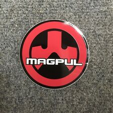 Red Black and White Magpul Sticker Round Ships Free!
