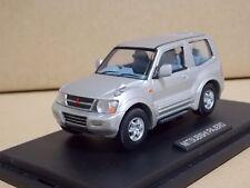 1/43 Mitsubishi Pajero 2001 Die Cast Model Silver RARE