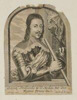 P. JODE, Porträt des Ferdinand II. (1610), Großherzog von Toskana, Medici, 1645
