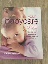 Your Babycare Bible Book By Dr A.J.R. Waterston