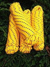 Nr.27 Gelbes Schnur 16 mm,30m,Expanderseil,Planenseil,Kunststoffseil,Tauziehen