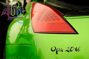 A 495 -  Opa  2020 2021   Baby Geburt Auto Aufkleber Autoaufkleber KFZ Sticker