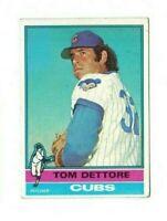 1976 Topps Baseball - Tom Dettore #126 - Set Break!