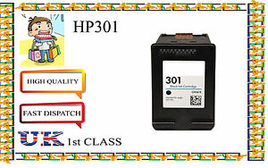 Remanufactured HP 301 Black  Cartridge For HP Deskjet 2540