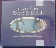 Rare Sarah and Dinah Jazz & Blues 2CD Boxset 36 Tracks MINT Sealed Made Holland
