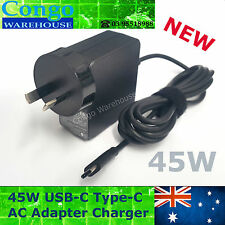 45W Power Suppy adapter Charger for Lenovo Type-C USB-C 20V 2.25A Laptops AU