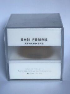 Basi FEMME by Armand Basi EDT 50ml perfume women 1.6 oz Discontinued