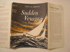 Sudden Voyage, Vera Amrein, Dust Jacket Only
