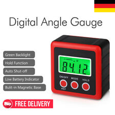 Digital Wasserwaage Winkelmesser Neigungsmesser LCD Messgerät Level Box Gauge DE
