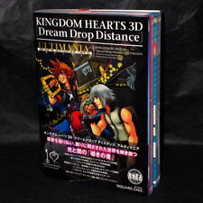 Kingdom Hearts 3D Dream Drop Distance ULTIMANIA JAPAN GUIDE and ART BOOK