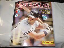 1988 Panini Baseball Sticker Album Complete Don Mattingly Cover