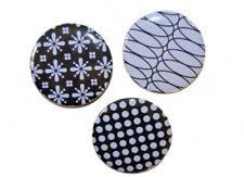 Magnetset 3 Stück-Retro- 5 cm groß-für Metallpinnwand oder Kühlschrank Magnet