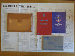 Jaguar XJ6/XJ6L Series 2 Owners Handbook/Manual and Pack