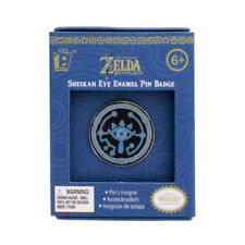 "Nintendo The Legend of Zelda Sheikah Eye Logo Badge Enamel Metal Boxed 1.25"" Pin"