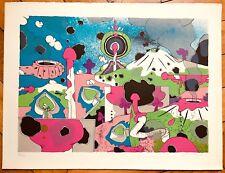 Jacques Chemay Lithographie signée numérotée artiste abstrait Belge surréaliste