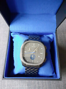 JOOP Herren Chronograph grau - Sekundenzeiger blau - dreimal getragen - wie neu