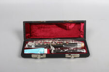 Excellent Piccolo Ebony Wood Body & Head Silver Plated Keys free Leather Case