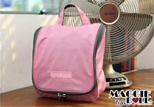 Travel Hanging Wash bag Cosmetic Makeup Toiletry pruse Organizer Large pink