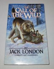The Call of The Wild by Jack London - Paperback Book, 1986 - ede