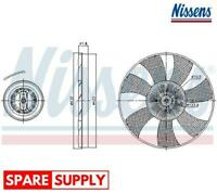 CLUTCH, RADIATOR FAN FOR MAN VW NISSENS 86222