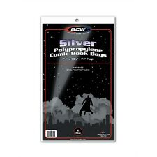 SALE!! [ 500 ] BCW SILVER AGE Clear Comic Book Bags / Sleeves