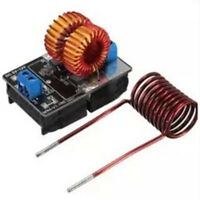 5V-12V 120W Low Voltage ZVS Induction Heating Power Supply Module w/Heater Coil