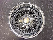 "13"" inch 13x7 new chrome cross lace wire wheels rims roadster wire dayton spokes"