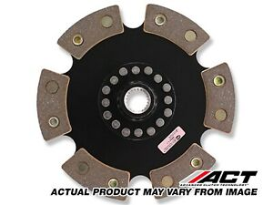 ACT (Advanced Clutch) 6240008 6 Pad Rigid Race Disc