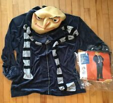 Despicable Me Gru Halloween Costume Plus Size NO PANTS Disney Outfit Used