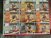 2020 AFL Select Footy Stars MILESTONE GAMES cards FULL COMPLETE SET MG1 - MG90