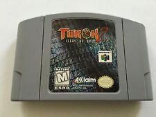 Turok 2: Seeds of Evil Grey Gray Nintendo 64 N64 1998