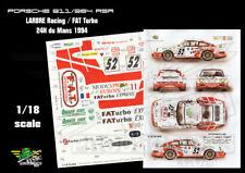 [FFSMC Productions] Decals 1/18 Porsche 911/964 RSR Larbre/FAT Turbo le Mans '94