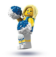 NEW LEGO SERIES 1 CHEERLEADER MINIFIG collectible minifigure figure 8683 no bag