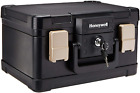 Fireproof Waterproof Security Safe Box Keyed Chest Document Storage Protector