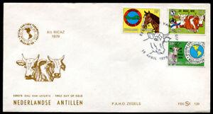 Nederland Antillen, FDC, Domestic Animals x4055