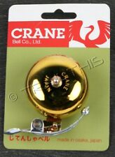 Soma Crane SUZU Classic Brass Bicycle Bell Big Sustained Sound Great Bike Bell