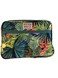 Fulton Bag Co Tropical Green High Density Thermal Insulated Lunch Bag Box