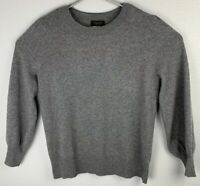 Cashmere Charter Club Sweater Long Sleeve Gray Womens L Large