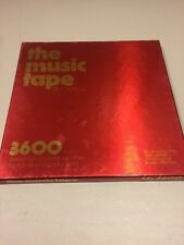 """CAPITOL The Music Tape fds3600 Reel to Reel 3600 Feet New Old Stock 10.5"""""""