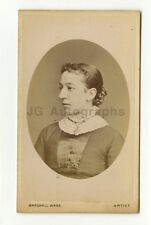 19th Century Fashion - 1800s Carte-de-visite Photo - Marshall Wane of Edinburgh