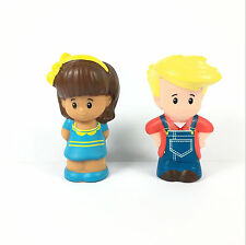 Fisher-Price Little People Mia Eddie farmer boy for Animal Friends Farm HA677