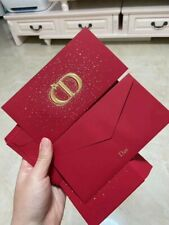 8 x Authentic Dior Red Packets 2020 Envelopes New Year Limited Collectible
