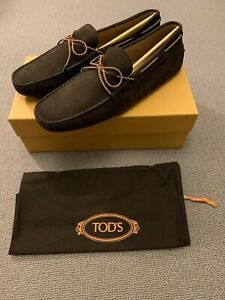 TOD's Men's Laccetto Gommino Driving Loafer Shoes, UK11.5 New With Box RRP £340